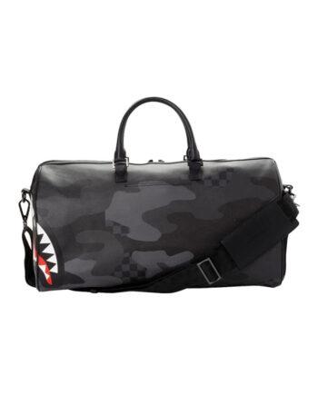 Sprayground Duffle Bag 3AM Checkered Camo Black 910D2972NSZ