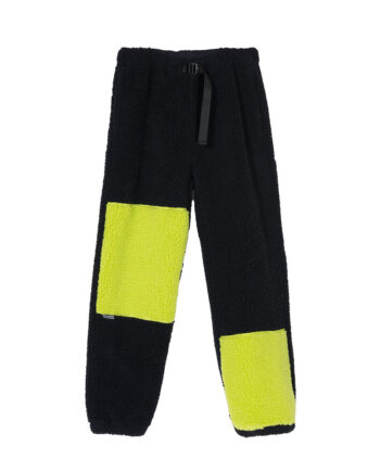 Stussy Color Block Sherpa Pant Black 216099