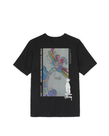 Stussy Delusion Pig Dyed Tee Black 1904590