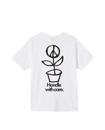 Stussy Peace Pot Tee White 1904578