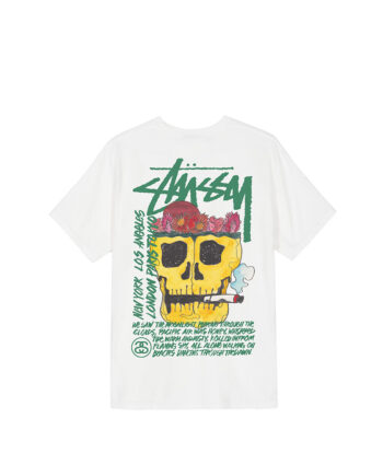 Stussy Smokin' Skull Tee Natural 1904593
