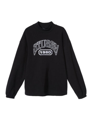 Stussy Tribute Terry Mock Neck Black 218098