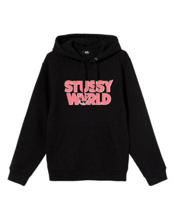 Stussy World Hood Black 1924585