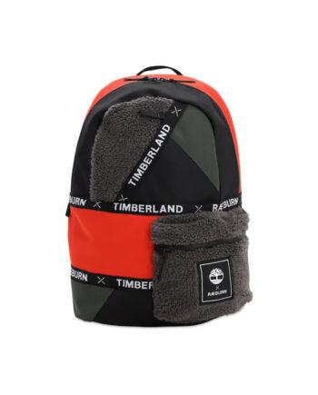 Timberland x Raeburn Sherpa Backpack Dark Green / Grey / Spicy TB0A2GKZ-959