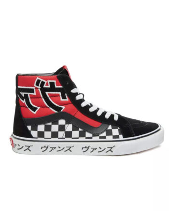Vans Japanese Type SK8-HI Red/White Reissue VN0A2XSBSJY
