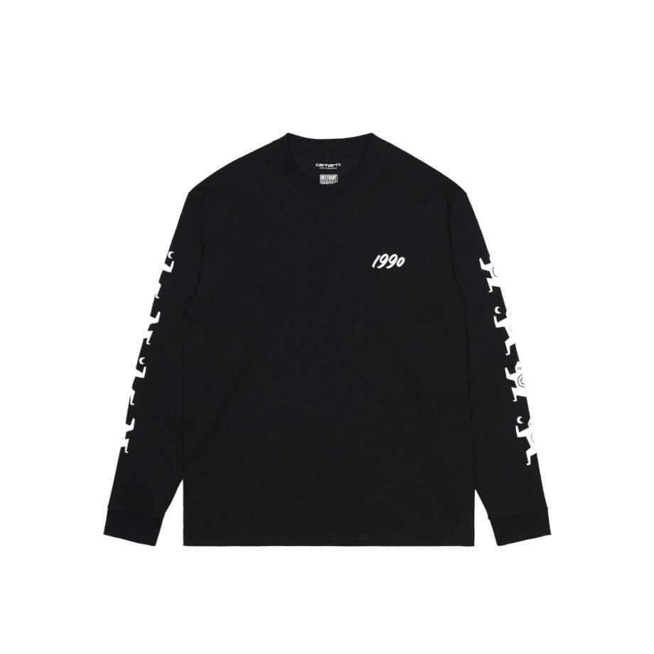 Carhartt Wip x Ninja Tune L/S T-Shirt Black/White I029378-9
