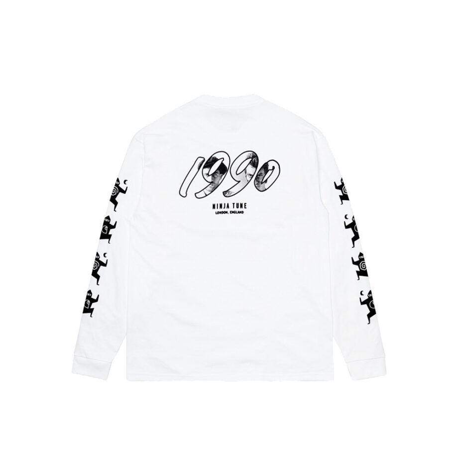 Carhartt Wip x Ninja Tune L/S T-Shirt White/Black I029378-4
