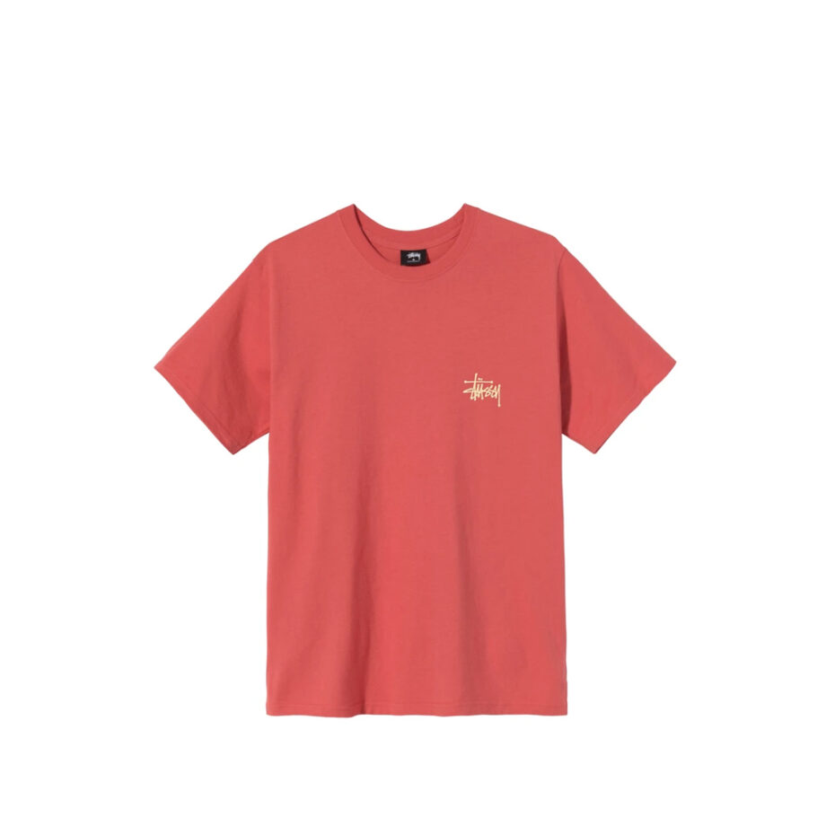 Stussy Basic Tee Red 1904615