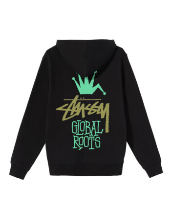 Stussy Global Roots Hood Black 1924622