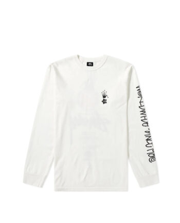 Stussy X I-D Heritage Long Sleeves T-Shirt Natural