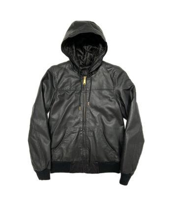 Carhartt Active Leather Jacket Woman Black 4878416890000