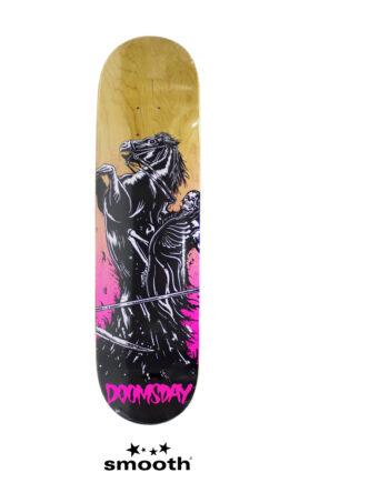 "Doomsday Apocalypse Death Knight Skateboard Deck 8.1"""