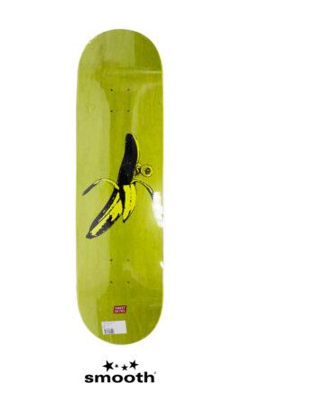 """Sweet Sktbs Banana Skateboard Deck Green Stain 1009255001260 - 8.5"""""""