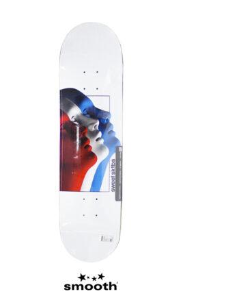 "Sweet Sktbs Cycle Tric Skateboard Deck White 7332846337006 - 8.125"""