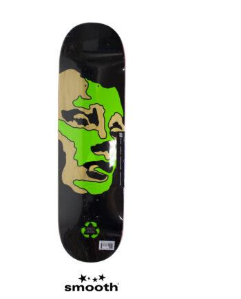 "Sweet Sktbs Face Black Skateboard Deck Wood & Black 7332846354249 - 8.5"""