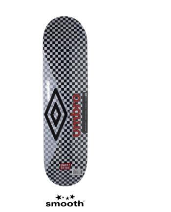 """Sweet Sktbs x Umbro Skateboard Deck White/Black 7332846368819- 7.75"""""""