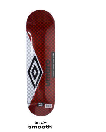 """Sweet Sktbs x Umbro Skateboard Deck Red/White 7332846368826- 8"""""""