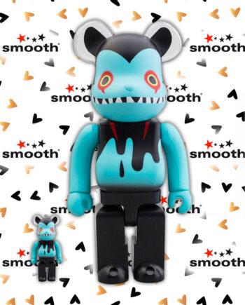 Medicom Toy Byron x Devilman by Shoko Bearbrick Set 100% 400%