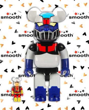 Medicom Toy Mazinger Z & Kouji Kabuto Bearbrick Set 100% 400%
