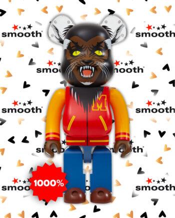 Medicom Toy Michael Jackson Werewolf Bearbrick 1000%