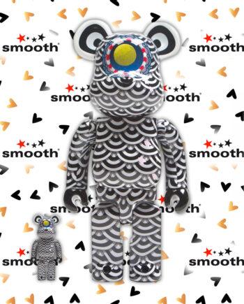 Medicom Toy Yasuto Sasada x Ground Y Bearbrick Set 100% 400%