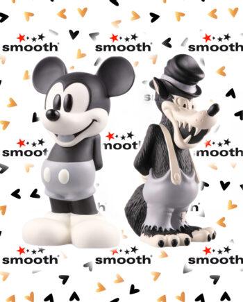 Medicom Toy x Neighborhood x Disney Vinyl Collectible Dolls Mickey Mouse & Big Bad Wolf