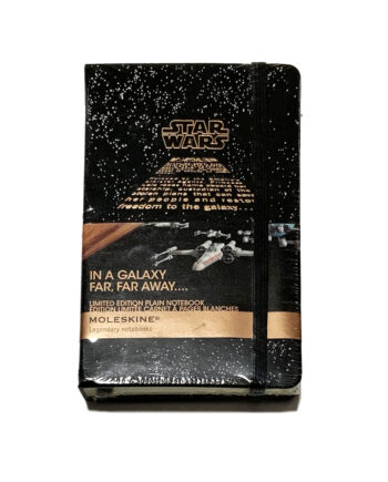 """Moleskine x Star Wars Limited Edition Notebook 240 Pages """"In a Galaxy"""""""