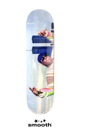 "Primitive Skateboarding Biggie Twin Towers Skateboard Deck Multi 8.0"""