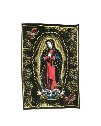 Santa Cruz by Jason Jessee Plaid Guadalupe Black/Gold SCA-ACC-0122