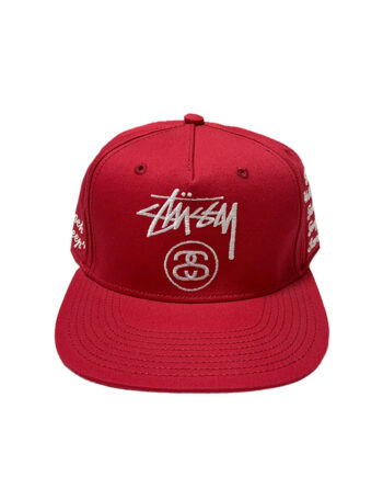 Stussy Black Sheep Cap Red