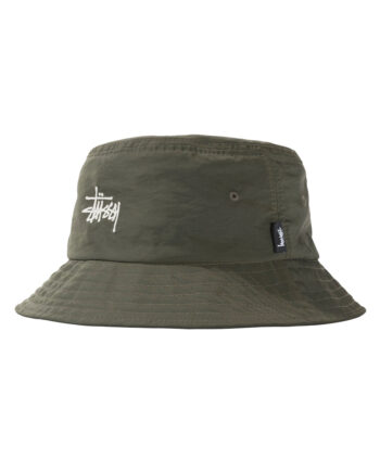 Stussy Reversible Bucket Hat Green 132975