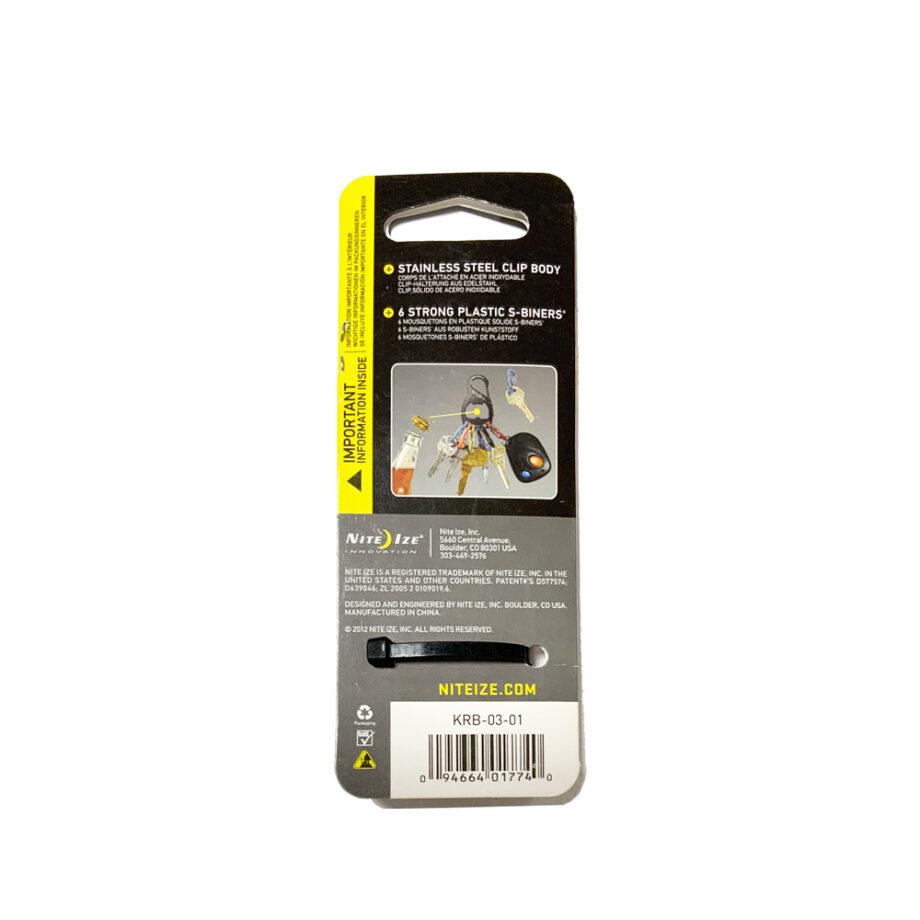 Stussy x Nite Ize Key Rack & Link Multi Carabiner Keychain KRB-03-01