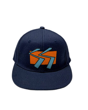 Stussy Double S Logo Snapback Ballcap Navy