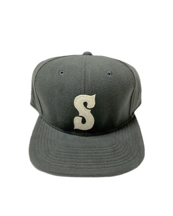 Stussy Pirate Fleece Snapback Ballcap Grey 031821