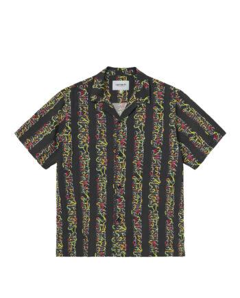 Carhartt Wip S/S Transmission Shirt Transmission Print/Black I028794-3