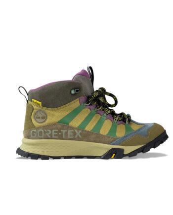 Garrison Trail Gtx Mid Hiker Md Blue Suede Brown TB0A2NBC078