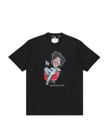 Napapijri By Martine Rose S-Napoli T-Shirt Black NP0A4FJA0411