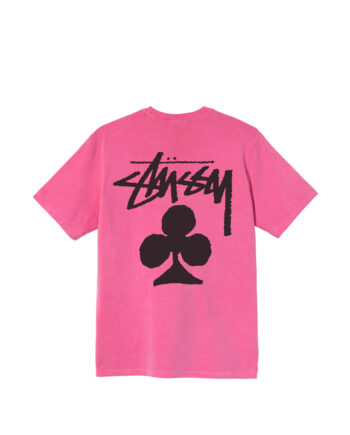 Stussy Club Pigment Dyed Tee Pink 1904670