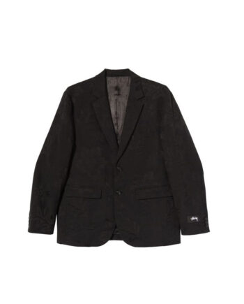 Stussy Hawaiian Jacquard Coat Black 115560