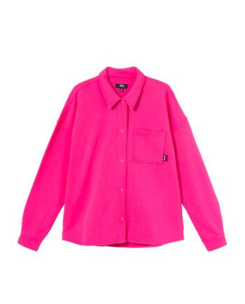 Stussy Huron Shirt Hot Pink 218121