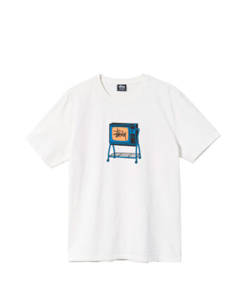 Stussy Rolling Tv Pigment Dyed Tee Natural 1904672