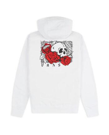 Vans Rose Bed Hoodie White VN0A54AK