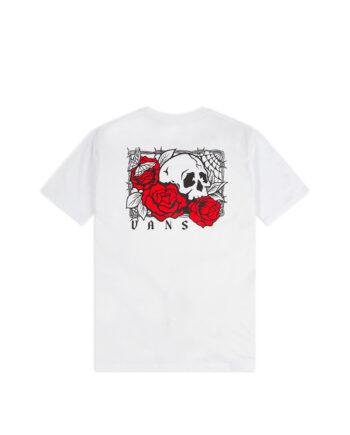 Vans Rose Bed T-Shirt White VN0A54CV