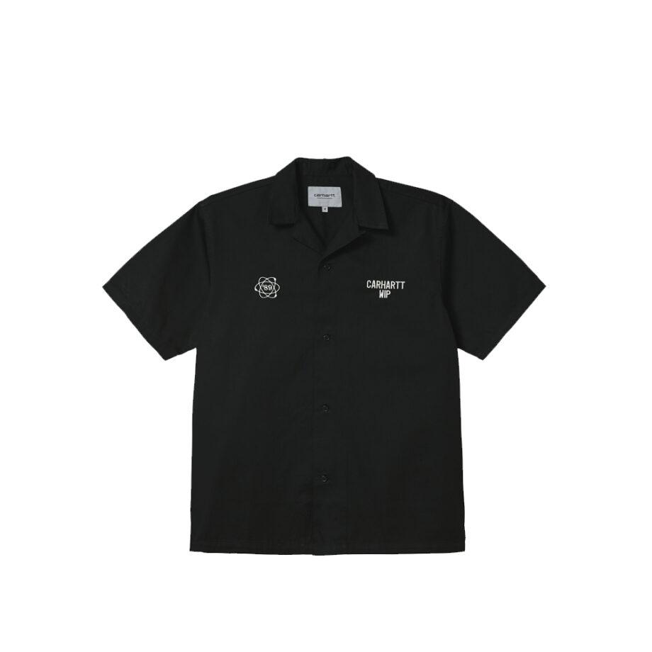 Carhartt Wip S/S Cartograph Shirt Black I028806-9
