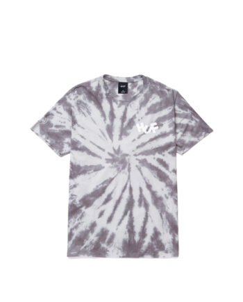 Haze Brush Tie Dye S/S Tee Black TS01383