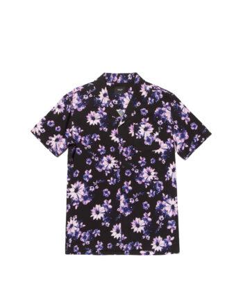 Huf Dazy S/S Resort Shirt Black BU00096
