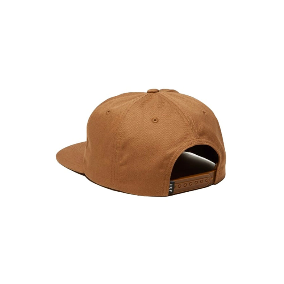 Huf Ess Unstructured TT Snapback Toffee HT00543