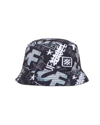 Huf Haze Bucket Hat Black HT00565