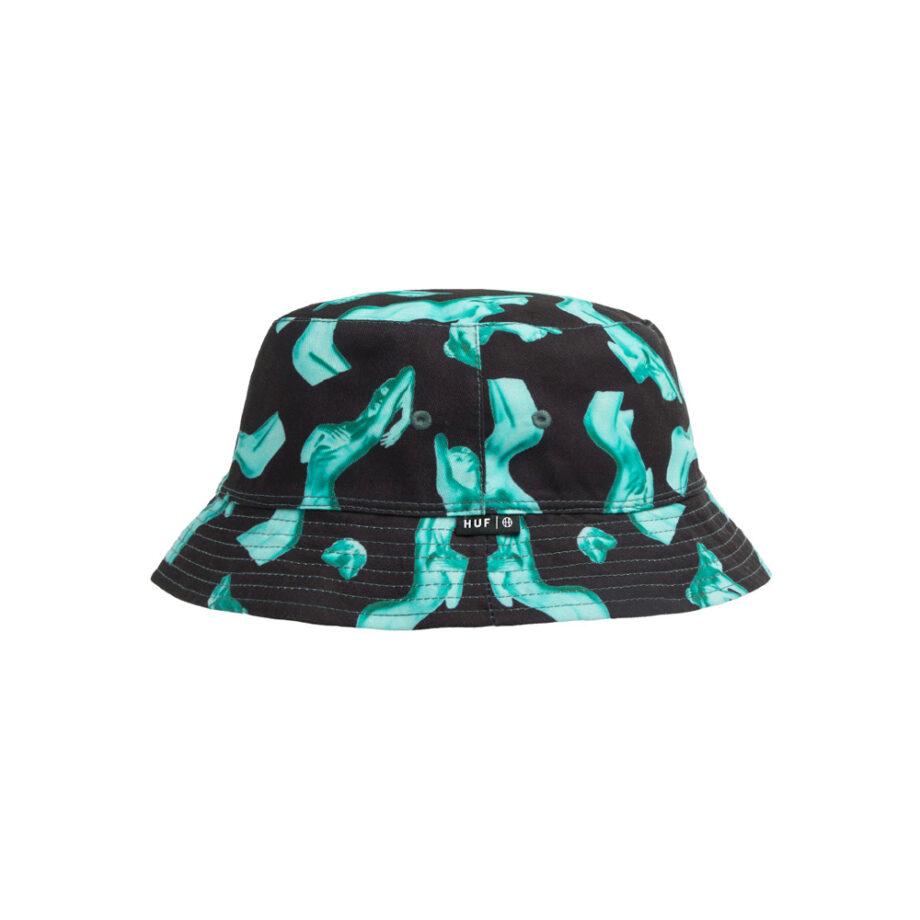 Huf Her Reversible Bucket Hat Black HT00534