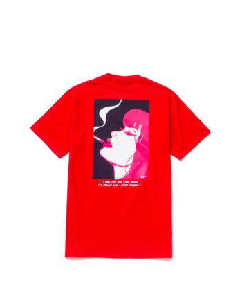 Huf I Feels Good S/S Tee Red TS01349